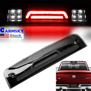Led Smoke 3rd Third Brake Cargo Light Fit 2009 2018 Dodge Ram 1500 2500 3500 Usa