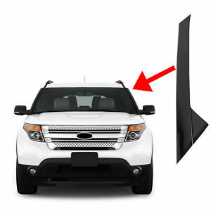 Driver Left Side Windshield outer Trim Molding Pillar For 2011 19 Ford Explorer
