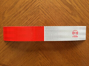 Reflective Safety Tape Red White Safety Signs Traffic Control