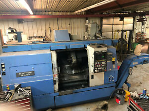 2 Mazak Cnc Lathes With Live Tooling
