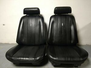 Chevelle Bucket Seats With Tracks Headrests