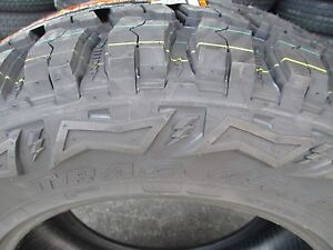 4 New 35x12 50r20 Thunderer Mud M t Tires 35125020 35 1250 20 12 50 R20 Mt 12 P