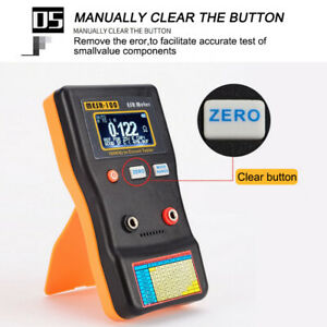 Mesr100 V2 Auto Ranging In Circuit Esr Capacitor Meter Tester 0 001 To 100r clip