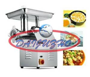 Commercial 220kg h 22 Electric Meat Grinder Stainless Steel Meat Grinder 220v