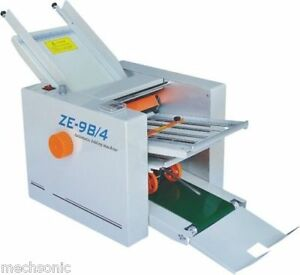 310 700 Mm Paper 4 Folding Plates Auto Folding Machine Ze 9b 4 Ss