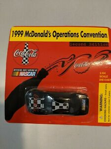 1999 McDONALD'S OWNER OPERATOR CONVENTION 1/64TH SCALE COCA COLA NASCAR CAR