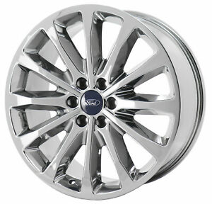 22 Ford F150 Limited Bright Pvd Chrome Wheel Rim Factory Oem 10174
