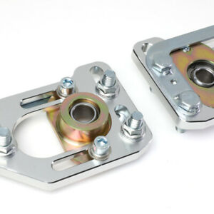 For 79 89 Mustang Front Aluminum Adjustable 3 0 Camber 2 0 Caster Plates
