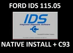 Ford Ids 115 05 C93 Calibration Files Diagnostic Software Instant Delivery