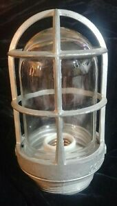 Vintage Appleton Form 100 Explosion Proof Industrial Steam Punk Light Fixture