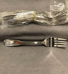 World Tableware 685 038 Coquille 18 0 Stainless Salad Fork Set Of 36