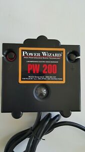 Power Wizard Pw200 110v Plug in Electric Fence Charger