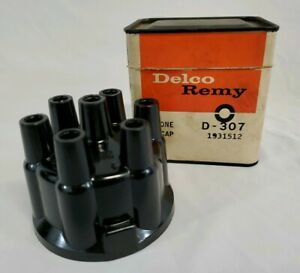 Nos Delco Remy D 307 Distributor Cap 1931512 1953 1962 Gm Olds Pont Nash 6 Cyl