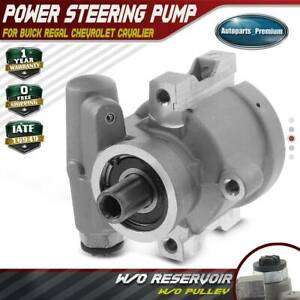 Power Steering Pump W O Pulley For Buick Regal Chevrolet Cavalier Pontiac 20 893