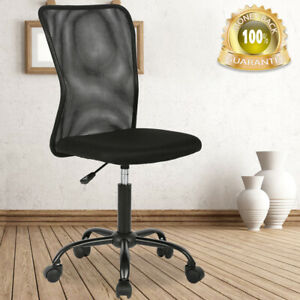 Ergonomic Mid Back Mesh Computer Desk Office Chair W lumbar Support Task Chair