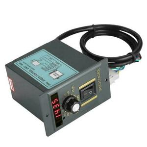 Digital Adjustable Stepless Motor Ac 220v 400w Speed Controller 0 1450rpm