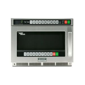 Sharp R cd2200m Twintouch Commercial Microwave Oven 2200 Watts