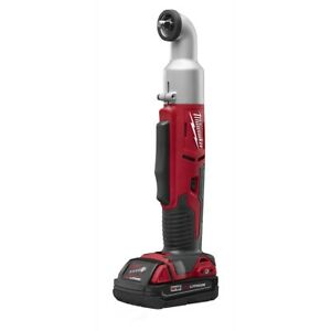 Milwaukee M18 Cordless 2 speed 3 8 In Right Angle Impact Wrench Mlw2668 21ct