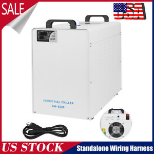 Cw 5000 Industry Water Chiller For Co2 Laser Engraving Cutting Machine 110v
