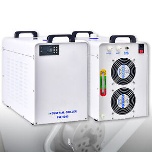 New Industrial Water Chiller Cw 5000 For Laser Engraver Engraving Machines