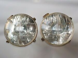 Alfa Romeo Tipo33 Stradale Used Pair Carello 7 Headlights W Integral Park Light