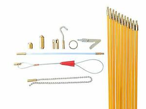 Wire Noodler Hd Most Complete Wire And Cable Pulling Fish Tape Kit 8 Attachmen