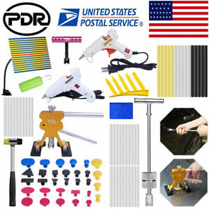 90 Car Body Paintless Hail Removal Repair Pdr Tools Dent Puller Lifter Hammer