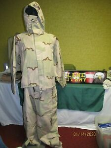 Military Surplus Chemical Suit Desert 3 Color Ppe Pants Or Jacket New