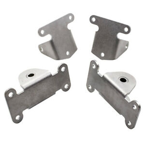 For Chevy Sbc Small Block Solid Engine Motor Frame Mount Set 327 350 400