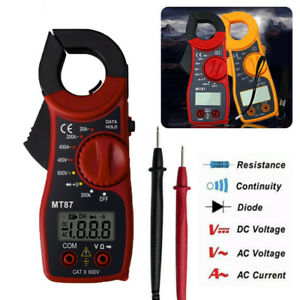 Digital Lcd Clamp Meters Ac dc Voltage Ac Current Tester Ohmmeter Multimeter