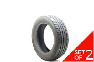 Set Of 2 Used 245 55r19 Michelin Defender Ltx M S 103h 6 32