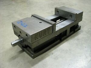 Kurt 6 Milling Machine Vise 3600v Angle Lock Versitile Work Holding Clamp