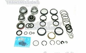 Ford Chevy T5 World Class 5 Sp Transmission Rebuilt Kit Bearings Synchros