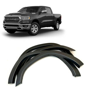 2019 2020 Dodge Ram 1500 Fender Flares Wheel Protection Painted Gray Oe Style