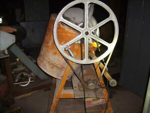 Vintage Electric Concrete Mixer