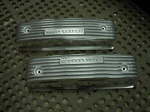 Nos Offy Offenhauser Y Block 54 57 239 272 292 Ford Mercury Hot Rod Valve Covers