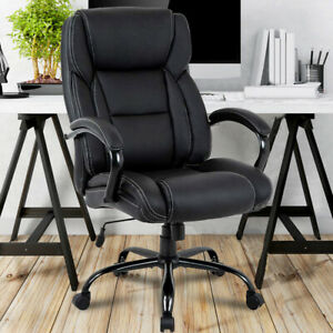 500 Lbs Big And Tall Office Chair High Back Desk Chair Ergonomic Computer Chair