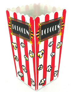 67 Oz Plastic Old fashioned Popcorn Container Case Of 24