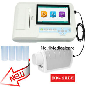Digital Spirometer Lung Function Breathing Diagnostic Pulmonary Testing Device