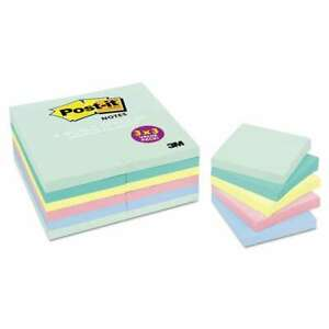 Post it Notes Original Pads In Marseille Colors Value Pack 3 X 051131971547