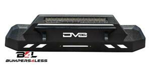 Dv8 Offroad Fbtt1 05 Center Mount Winch Capable Front Bumper For 2016 20 Tacoma