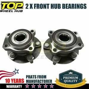 2x 513303 Front Wheel Hub Bearing For 2008 13 Subaru Impreza 2009 14 Forester