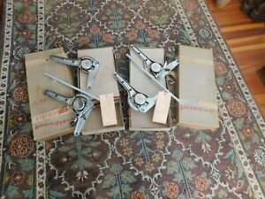 Porsche 356 Nos Seat Hinges Recliners With Original Boxes And Hardware