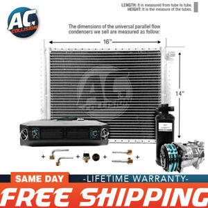 Ac Kit Universal Evaporator Underdash Unit Compressor And Condenser 14 X 16