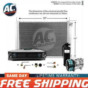Ac Kit Universal Evaporator Underdash Unit Compressor And Condenser 14 X 20