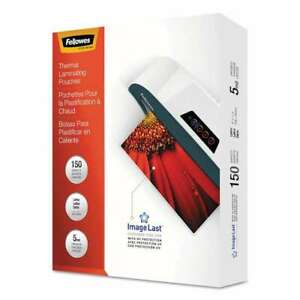 Fellowes Imagelast Laminating Pouches With Uv Protection 5mil 043859647637