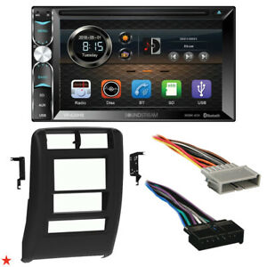 1997 2001 Jeep Cherokee Double Din Car Stereo Installation Dash Kit Bezel l