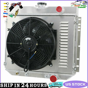 3 Row Radiator Shroud Fan Relay For 67 70 Ford Mustang 1967 1968 Ford Ltd V8