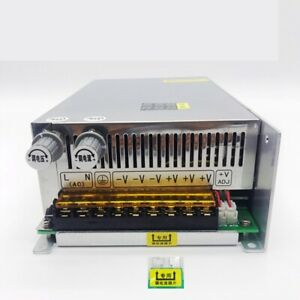 Adjustable 0 80v 12 5a 1000w Regulated Variable Switch Power Supply For Dc Motor