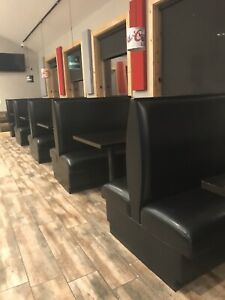 Used Restaurant Booths 6 Doubles 4 Singles Excellent Condition 6k Invested 2017